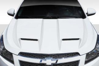 2011-2015 Chevrolet Cruze Duraflex WS6 Hood - 1 Piece