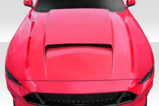2018-2019 Ford Mustang Duraflex CVX Hood - 1 Piece
