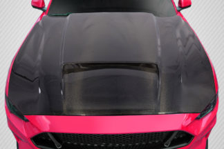 2018-2019 Ford Mustang Carbon Creations CVX Hood - 1 Piece