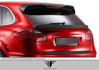 2011-2014 Porsche Cayenne Carbon AF-1 Trunk Spoiler ( CFP ) - 1 Piece