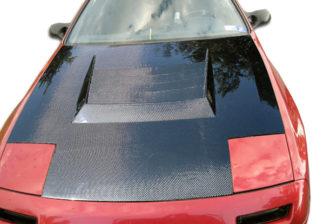 1986-1991 Mazda RX-7 Carbon Creations D-1 Hood - 1 Piece