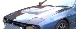 1986-1991 Mazda RX-7 Duraflex D-1 Hood - 1 Piece