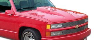 1988-1999 Chevrolet GMC C Series / K Series Pickup 1992-1999 Tahoe Yukon Suburban Duraflex Cowl Hood - 1 Piece