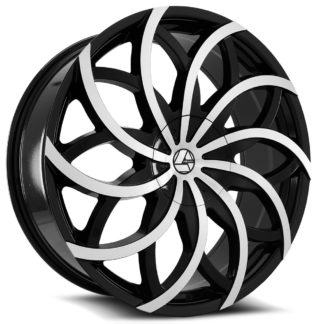 Azara Wheel Model AZA-504 is uniquely designed with with extreme style paired with the highest quality standard in aftermarket alloy wheel manufacturing. Azara wheels are put through rigorous testing before hitting the market to ensure a top quality end result.