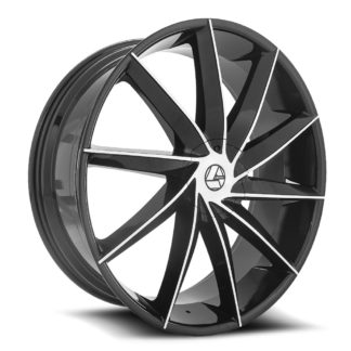 Azara Wheel Model AZA-506 is uniquely designed with with extreme style paired with the highest quality standard in aftermarket alloy wheel manufacturing. Azara wheels are put through rigorous testing before hitting the market to ensure a top quality end result.