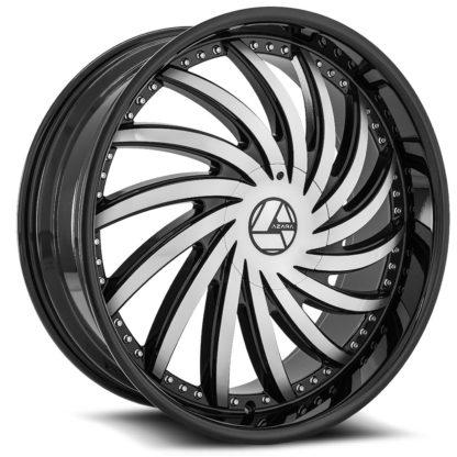 Azara Wheel Model AZA-508 is uniquely designed with with extreme style paired with the highest quality standard in aftermarket alloy wheel manufacturing. Azara wheels are put through rigorous testing before hitting the market to ensure a top quality end result.