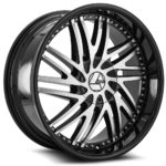 Azara Wheel Model AZA-509 is uniquely designed with with extreme style paired with the highest quality standard in aftermarket alloy wheel manufacturing. Azara wheels are put through rigorous testing before hitting the market to ensure a top quality end result.
