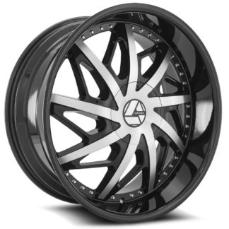 Azara Wheel Model AZA-510 is uniquely designed with with extreme style paired with the highest quality standard in aftermarket alloy wheel manufacturing. Azara wheels are put through rigorous testing before hitting the market to ensure a top quality end result.