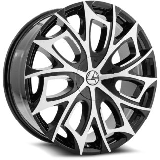 Azara Wheel Model AZA-512 is uniquely designed with with extreme style paired with the highest quality standard in aftermarket alloy wheel manufacturing. Azara wheels are put through rigorous testing before hitting the market to ensure a top quality end result.