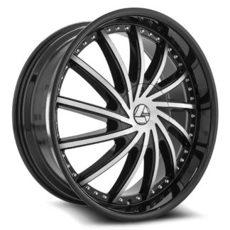 Azara Wheel Model AZA-517 is uniquely designed with with extreme style paired with the highest quality standard in aftermarket alloy wheel manufacturing. Azara wheels are put through rigorous testing before hitting the market to ensure a top quality end result.