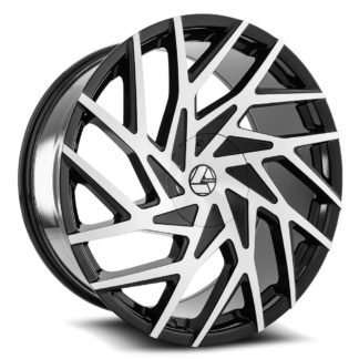 Azara Wheel Model AZA-518 is uniquely designed with with extreme style paired with the highest quality standard in aftermarket alloy wheel manufacturing. Azara wheels are put through rigorous testing before hitting the market to ensure a top quality end result.