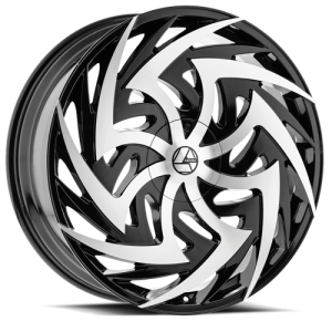 Azara Wheel Model AZA-C520 is uniquely designed with with extreme style paired with the highest quality standard in aftermarket alloy wheel manufacturing. Azara wheels are put through rigorous testing before hitting the market to ensure a top quality end result.
