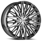 Azara Wheel Model AZA-522 is uniquely designed with with extreme style paired with the highest quality standard in aftermarket alloy wheel manufacturing. Azara wheels are put through rigorous testing before hitting the market to ensure a top quality end result.