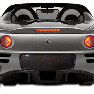 1999-2004 Ferrari 360 Modena Carbon Creations F-1 Spec Rear Bumper Cover – 1 Piece (Overstock)