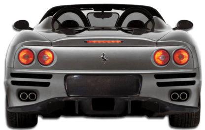 1999-2004 Ferrari 360 Modena Carbon Creations F-1 Spec Rear Bumper Cover - 1 Piece (Overstock)