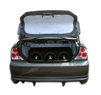 2000-2004 Ford Focus 4DR Duraflex Poison Rear Bumper Cover - 1 Piece (Overstock)