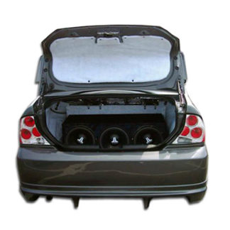 2000-2004 Ford Focus 4DR Duraflex Poison Rear Bumper Cover - 1 Piece (Overstock)