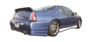 2000-2005 Chevrolet Monte Carlo Duraflex F-1 Rear Bumper Cover - 1 Piece
