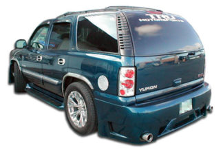 2000-2006 Chevrolet Tahoe GMC Yukon Duraflex Platinum Rear Bumper Cover (short wheelbase) - 1 Piece