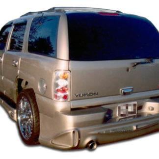 2001-2006 GMC Denali XL Duraflex Platinum Rear Bumper Cover - 1 Piece