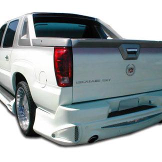 2002-2006 Cadillac Escalade EXT Duraflex Platinum Rear Bumper Cover - 1 Piece