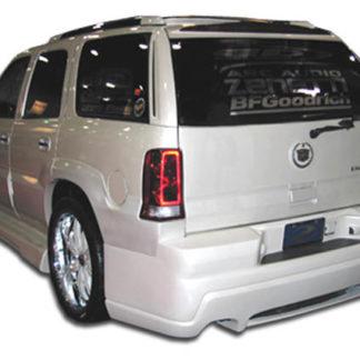 2002-2006 Cadillac Escalade Duraflex Platinum 2 Rear Bumper Cover - 1 Piece (Will not fit EXT ESV)
