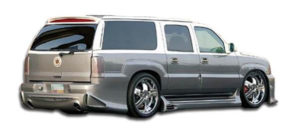 2002-2006 Cadillac Escalade Duraflex Platinum Rear Bumper Cover - 1 Piece (Will not fit EXT ESV)
