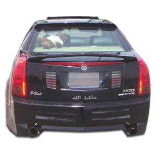 2003-2007 Cadillac CTS Duraflex Platinum Rear Bumper Cover - 1 Piece
