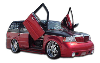 2003-2006 Lincoln Navigator Duraflex VIP Front Bumper Cover - 1 Piece
