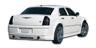 2005-2010 Chrysler 300 300C Duraflex VIP Rear Lip Under Spoiler Air Dam - 1 Piece