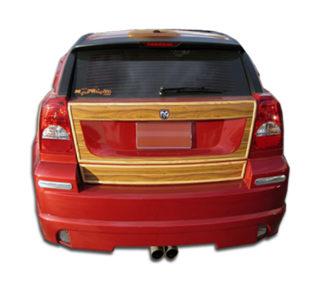 2007-2012 Dodge Caliber Duraflex Racer Rear Lip Under Spoiler Air Dam - 1 Piece (Overstock)