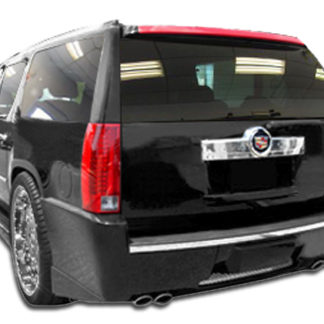 2007-2014 Cadillac Escalade ESV Duraflex Platinum Rear Bumper Cover - 1 Piece