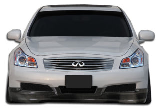 2007-2009 Infiniti G Sedan G25 G35 G37 Carbon Creations GT Spec Front Lip Under Spoiler Air Dam (non sport) - 1 Piece (Overstock)