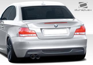 2008-2013 BMW 1 Series E82 E88 Duraflex M-Tech Look Rear Bumper Cover - 1 Piece (Overstock)