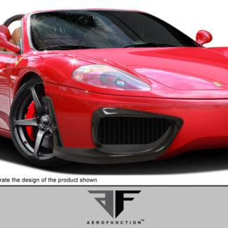 1999-2004 Ferrari 360 Modena Carbon AF-1 Front Bumper Cover ( CFP ) - 1 Piece (Overstock)