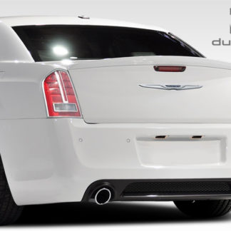 2011-2014 Chrysler 300 Duraflex SRT Look Rear Bumper Cover - 1 Piece