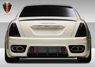 2005-2008 Maserati Quattroporte Eros Version 1 Rear Bumper Cover - 1 Piece