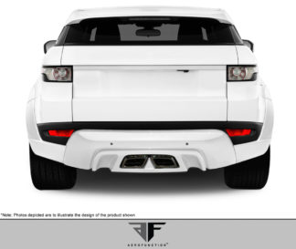 2012-2015 Land Rover Range Rover Evoque AF-1 Rear Diffuser ( GFK ) - 2 Piece