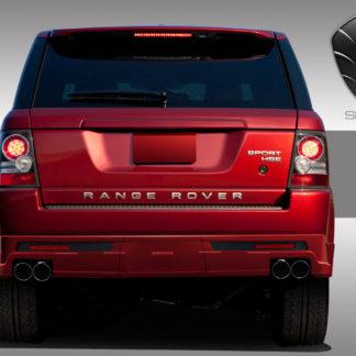 2010-2013 Land Rover Range Rover Sport Eros Version 1 Rear Lip Under Spoiler Air Dam ( side exhaust ) - 3 Piece