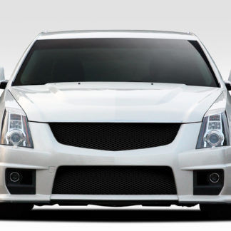 2008-2013 Cadillac CTS CTS-V Duraflex CTS-V Look Front Bumper Cover - 1 Piece