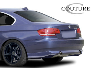 2007-2010 BMW 3 Series E92 2dr E93 Convertible Couture Urethane Vortex Rear Lip Under Spoiler Air Dam - 2 Piece (Overstock)