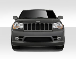 2008-2010 Jeep Grand Cherokee Duraflex SRT Look Front Bumper Cover - 1 Piece