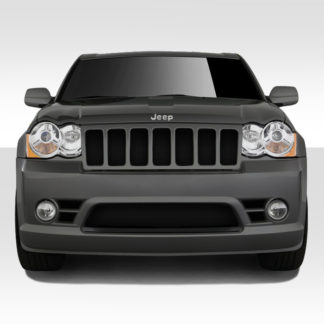2008-2010 Jeep Grand Cherokee Duraflex SRT Look Front Bumper Cover - 1 Piece