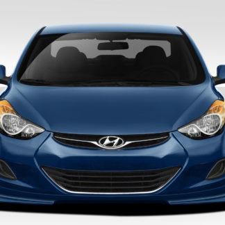 2011-2013 Hyundai Elantra Duraflex Racer Front Lip Under Spoiler Air Dam - 1 Piece