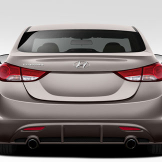 2011-2013 Hyundai Elantra Duraflex Racer Rear Lip Under Spoiler Air Dam - 1 Piece