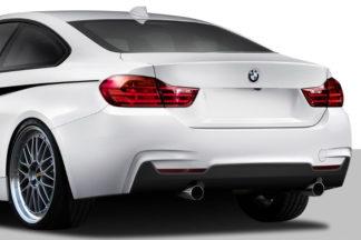 2014-2019 BMW 4 Series F32 Duraflex M Sport Look Rear Bumper Cover - 1 Piece (Overstock)