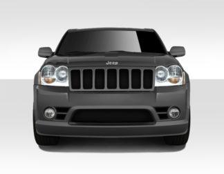 2005-2007 Jeep Grand Cherokee Duraflex SRT Look Front Bumper Cover - 1 Piece