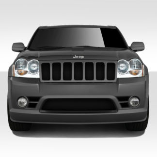 2005-2007 Jeep Grand Cherokee Duraflex SRT Look Front Bumper Cover - 1 Piece