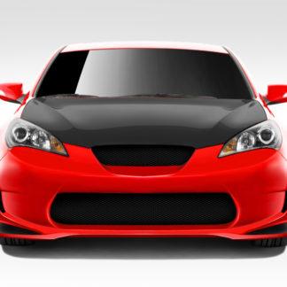 2010-2012 Hyundai Genesis Coupe 2DR Duraflex AM-S GT Front Bumper Cover - 1 Piece