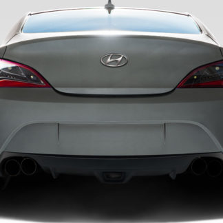 2010-2016 Hyundai Genesis Coupe 2DR Duraflex AM-S GT Rear Bumper Cover - 1 Piece